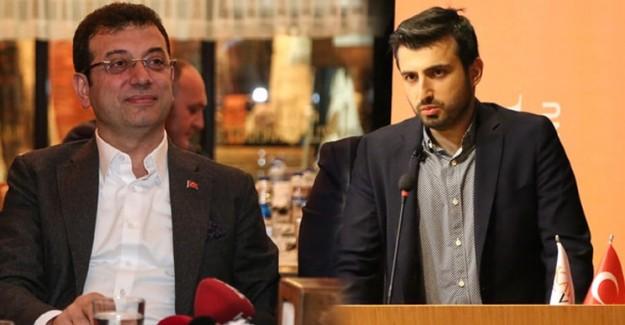İBB Başkanı Ekrem İmamoğlu, Baykar Teknik Müdürü Selçuk Bayraktar'ı Ziyaret Etti