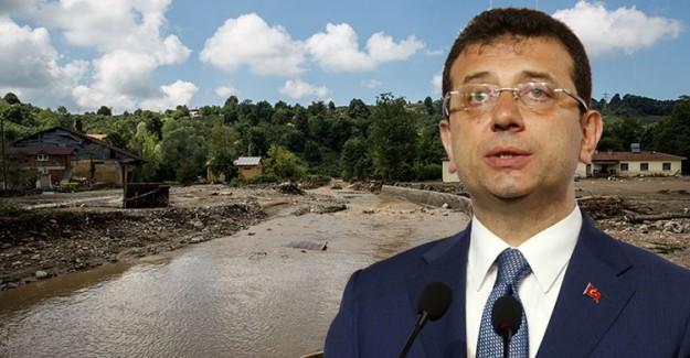 İBB, Düzce'ye Sel Felaketi Nedeniyle Yardım Gönderdi