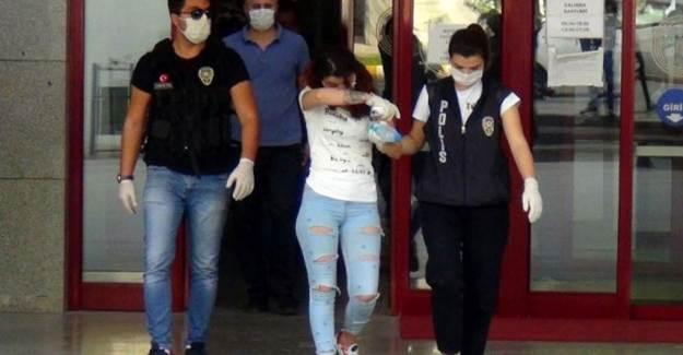 İç Çamaşırından Hassas Terazi ve Uyuşturucu Çıkan Kadın Tutuklandı