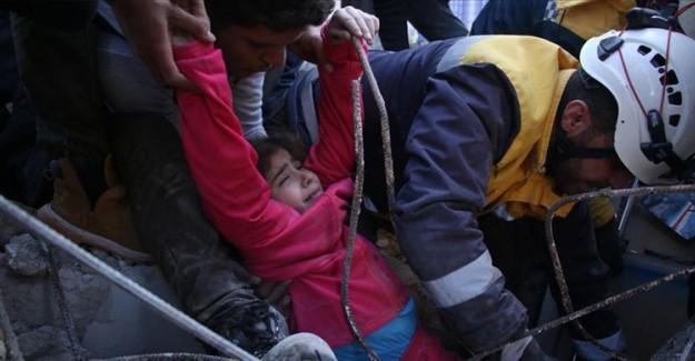 İdlib'deki Saldırılarda Hayatını Kaybedenlerin Sayısı 13'e Yükseldi