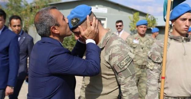 İdlib'e Gidecek Askerler Dualarla Yolcu Edildi!