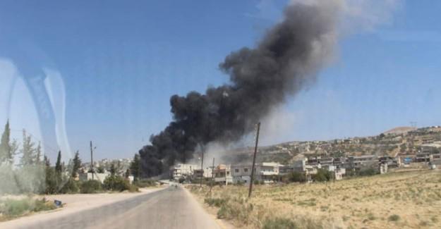 İdlib'e Operasyon Başladı! Esed Güçleri Karadan Vurmaya Başladı!