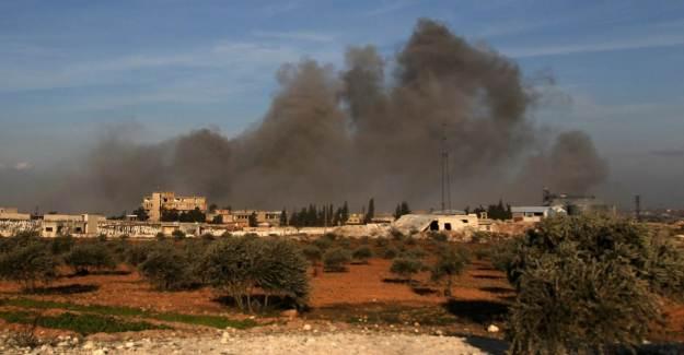 İdlib'e Topçu Saldırısı