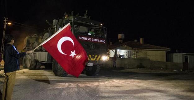 İdlib'e Yeni TSK Konvoyu İntikal Etti