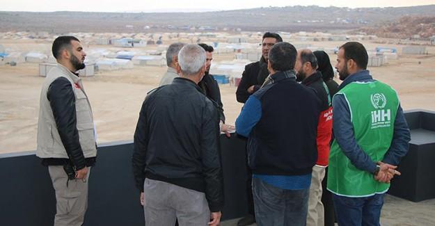 İHH'dan İdlib'teki Yetim Ailelere Konut Yardımı