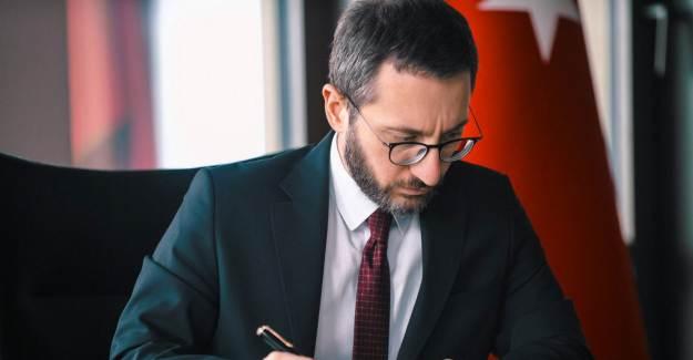 İletişim Başkanı Altun'dan Gazeteciyi Azarlayan Macron'a Tepki!