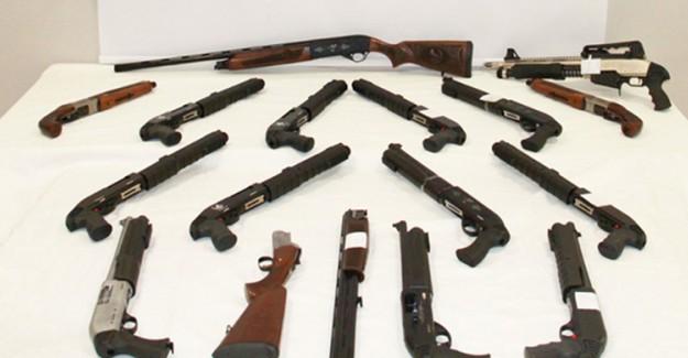 İnternet Ve Kargo Yoluyla Silah Kaçakçılığı Yapan Kişi Gözaltına Alındı