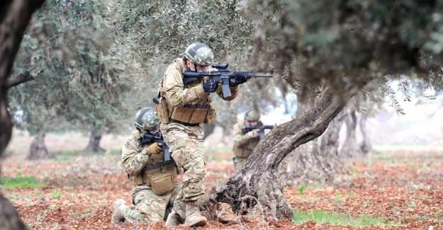 Irak Kuzeyindeki Hakurk'ta 5 PKK'lı İmha Edildi