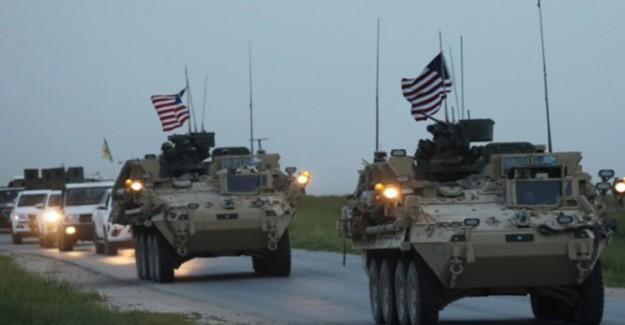 Irak'tan Çıkan ABD Konvoyu Suriye'ye Girdi