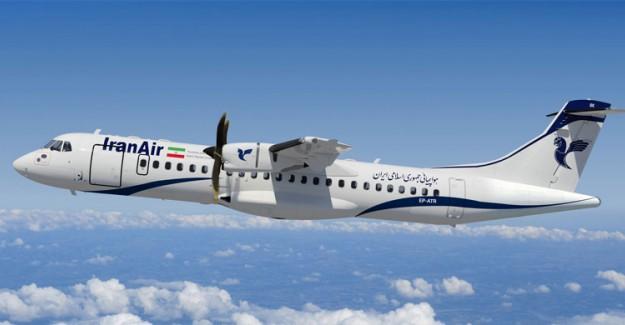 İran'da Düşen Uçağın Yeri Tespit Edildi