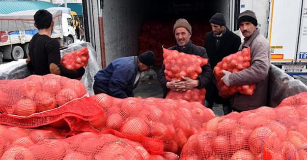 İran'dan Kuru Soğan İthalatı Başladı