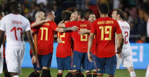 İspanya'ya İsviçre Engeli!