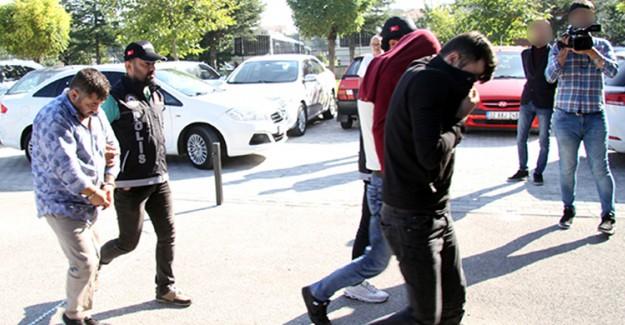 """Isparta'daki Eş Zamanlı """"Zehir"""" Operasyonunda 10 Tutuklama"""