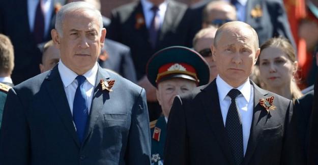İsrail Başbakanı Netanyahu Putin'i Arayıp Bilgi Verdi
