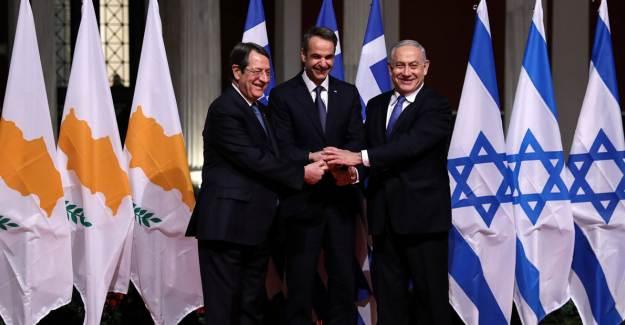 İsrail, Doğu Akdeniz'de Yunanistan'ın Yanında