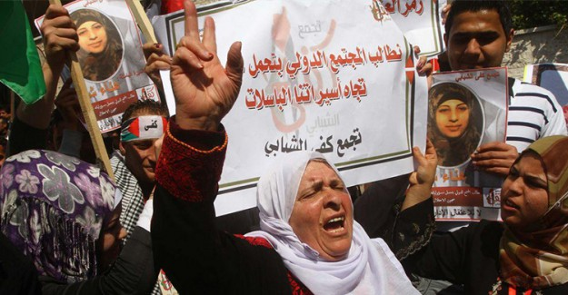 İsrail Filistinli Kadın Mahkumların Haklarını Kısıtlıyor
