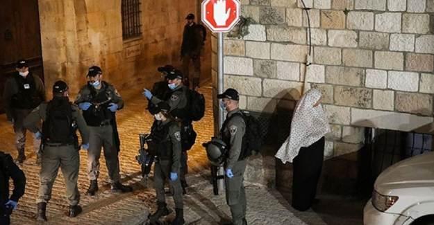 İsrail Kuvvetleri Dokuz Filistinliyi Gözaltına Aldı