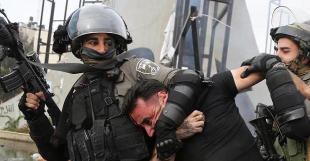 İsrail Masum Sivilleri Tutuklamaya Devam Ediyor