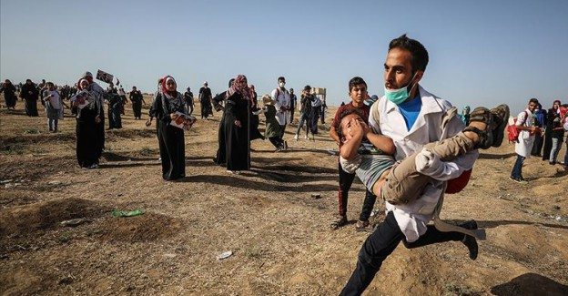 İsrail Ordusundan Keskin Nişancılara Talimat: 'Filistinli Protestocuları Artık Ayak Bileklerinden Vurun'