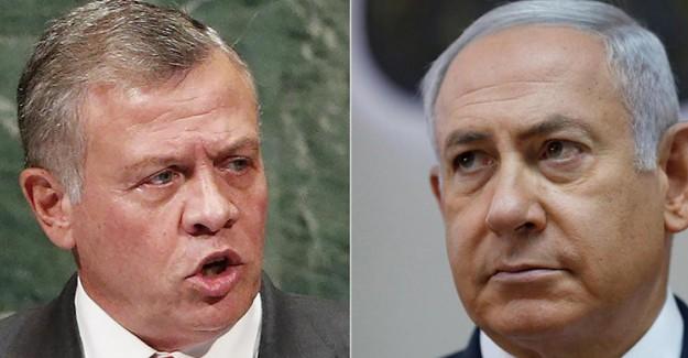 İsrail Ürdün'ü Su Kesintisi Yapmakla Tehdit Ediyor