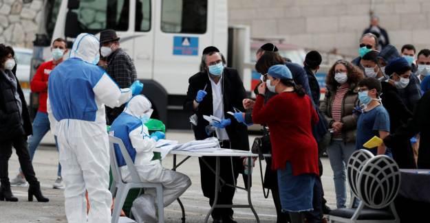 İsrail'de Koronavirüs Salgınında Vaka Sayısı 85 Bini Geçti