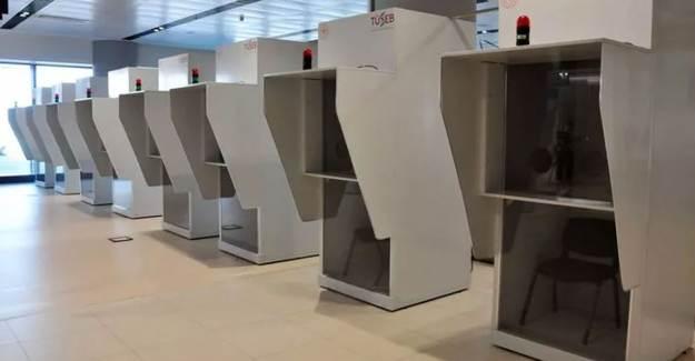 İstanbul Havalimanı'nda Coronavirüs Test Merkezi Kuruldu