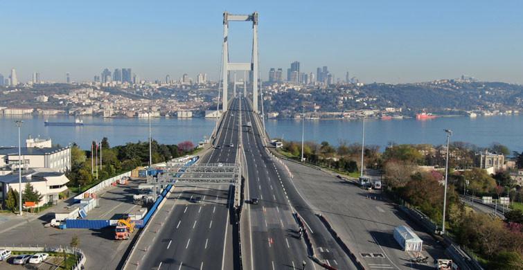 İstanbul Sokaklarını Sessizlik Bürüdü!