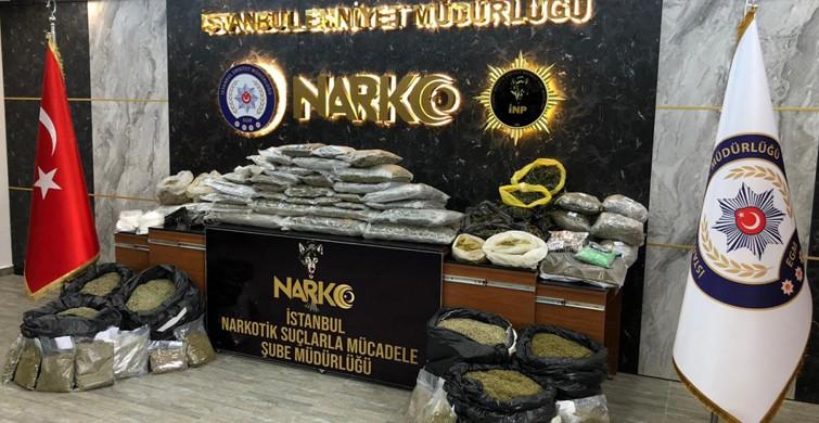İstanbul'da Son 3 Ayda 1,5 Ton Uyuşturucu Ele Geçirildi