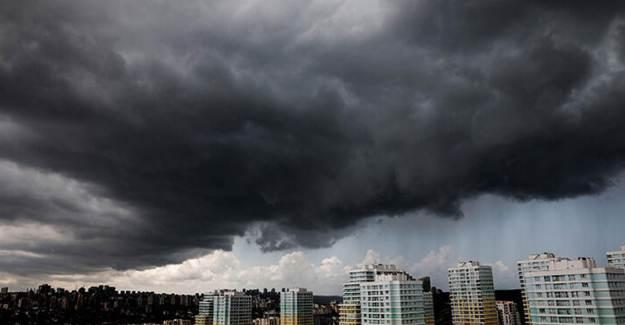 İstanbul'da Sürpriz Dolu Yağışı!