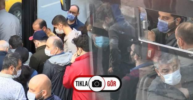 İstanbul'da Toplu Taşımadan Gelen Görüntüler Pes Dedirtti!