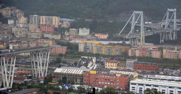 İtalya'da Morandi Köprüsü Kurbanları Anıldı