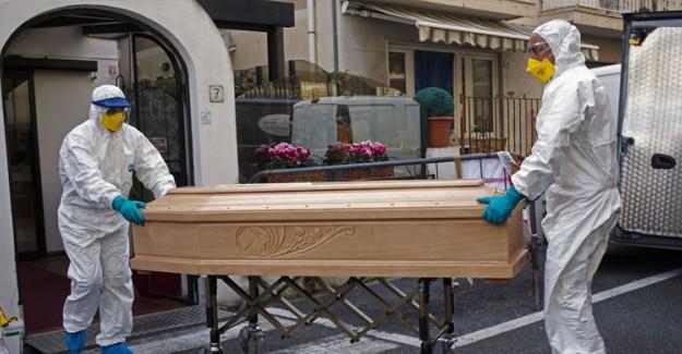 İtalya'da Yeni Tip Coronavirüsten Ölenlerin Sayısı 7 Bin 503'e Yükseldi