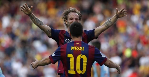 Ivan Rakitic: 'Barcelona'da Messi'yle Hiç Yakınlaşmadım'