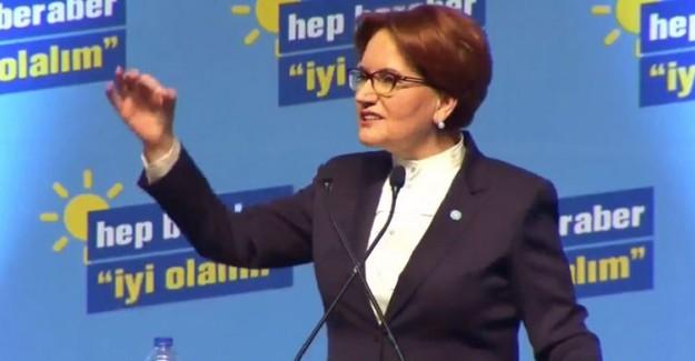 İYİ Parti Genel Başkanı Meral Akşener: Endişeniz Olması, Burhanettin Kocamaz Mersin'e İyi Gelecek