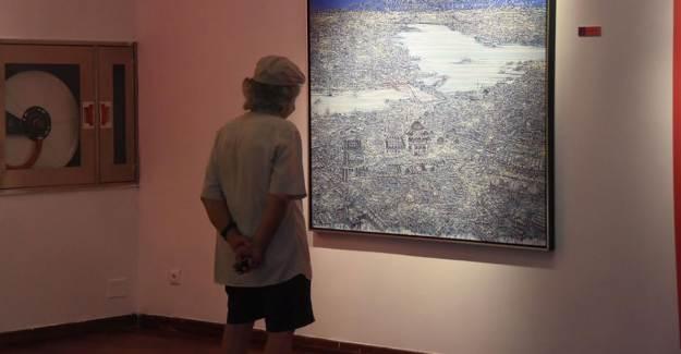 İzmir Ahmed Adnan Saygun Sanat Merkezi'nde Sergi