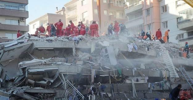 İzmir Depreminde Yıkılan Binaların Sorumluları Tutuklandı