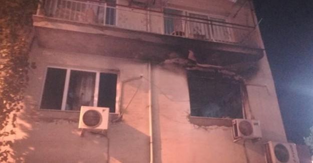 İzmir'de Buzdolabı Patlaması Sonucu 1 Kişi Yaralandı