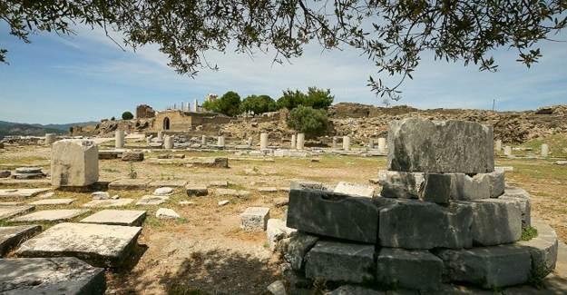 İzmir'in Bergama İlçesinde Yeni Tarihi Buluntular