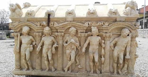 İznik Arkeoloji Müzesi'ndeki Lahitin Sırrı Ortaya Çıktı