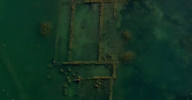 İznik Gölü Çekildi, Tarihi Sır Ortaya Çıktı!