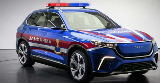 Jandarma Genel Komutanlığından 'Türkiye'nin Otomobili'ne Destek