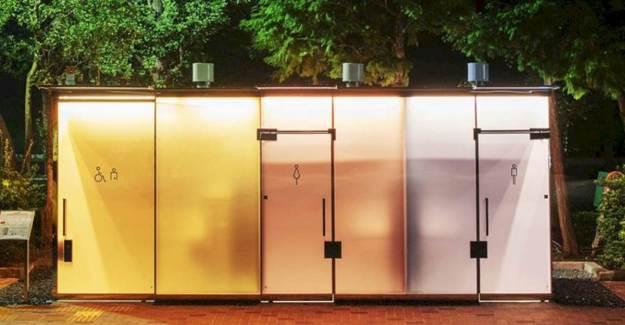 Japonya'da Gündem Şeffaf Tuvalet
