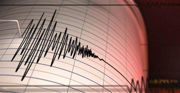 Japonya'nın Tori-şima Adasında Korkutan Deprem!