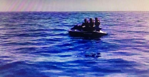 Jet Ski ile Yunanistan'a Kaçmaya Çalışan 3 FETÖ'cü Yakalandı
