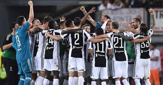 Juventus Art Arda 7. Kez Şampiyon!