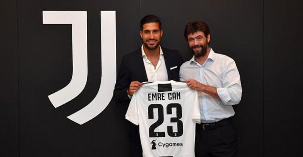 Juventus Emre Can'a İmzayı Attırdı!