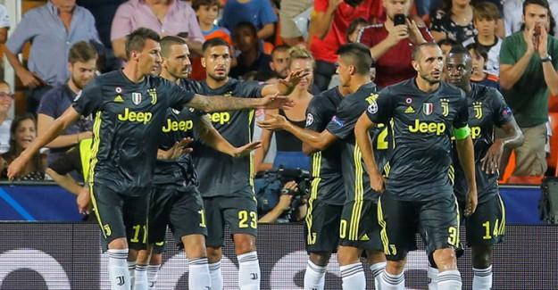 Juventus Mestalla'da Sürprize İzin Vermedi!