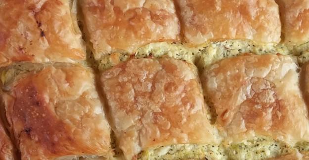 Kabaklı Milföy Böreği Tarifi