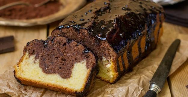 Kakaolu Karşık Kek