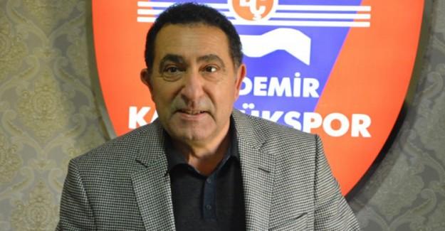 Karabükspor Başkanı Açıkladı! Yoruldum Artık